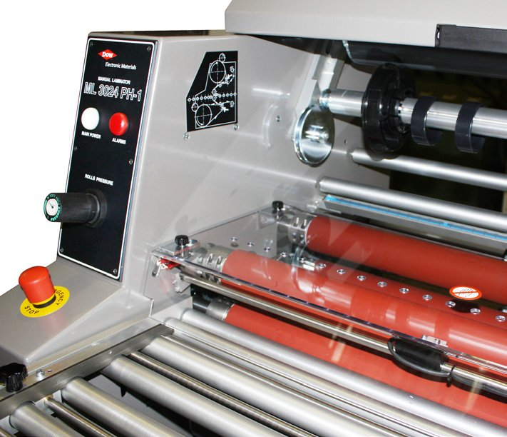 Manual Laminator Ml 3124 Ph1 Dynachem Automatic
