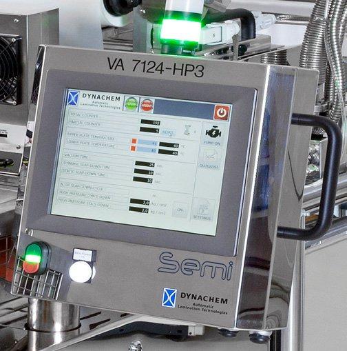 Vacuum Applicator VA 7124 HP3 SEMI Touch Screen Display
