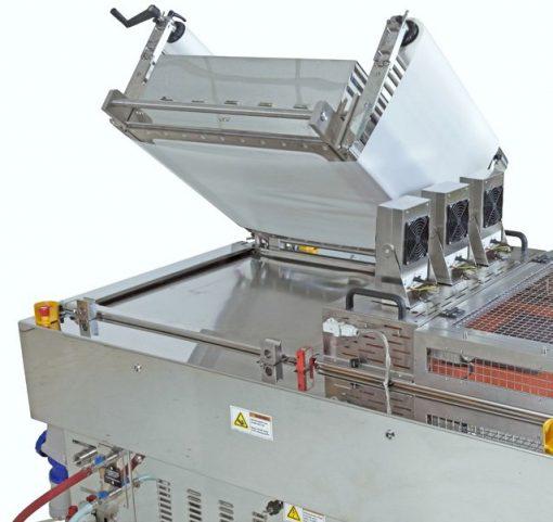 Vacuum Applicator VA 7124 HP3 SEMI Upper Plate Opening